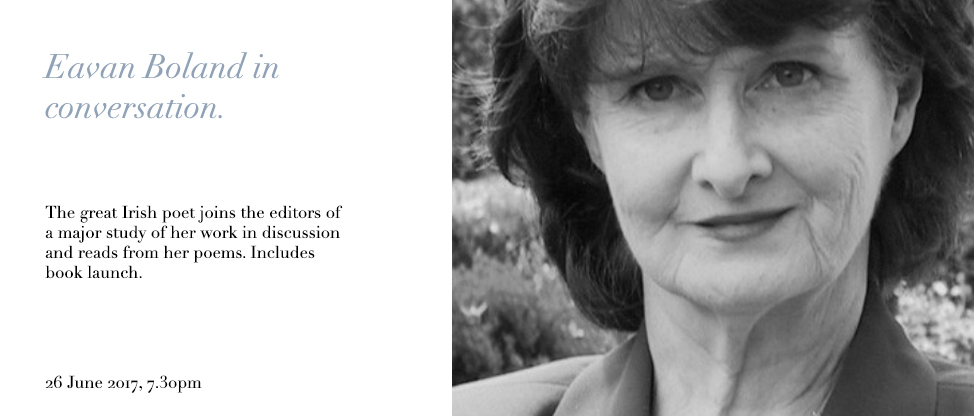 Poetry of eavan boland essay